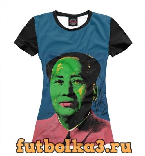 Футболка Мао женская