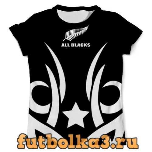 Футболка Маори All Blacks мужская
