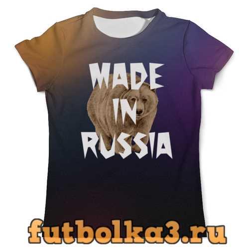 Футболка Медведь мужская