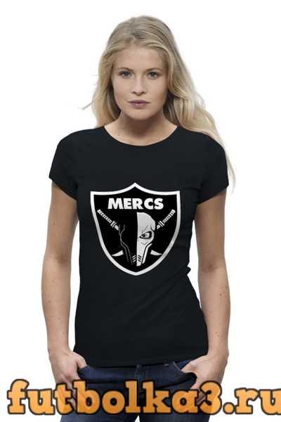 Футболка Mercs (Deadpool) женская