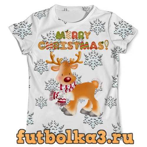 Футболка Merry Christmas! мужская