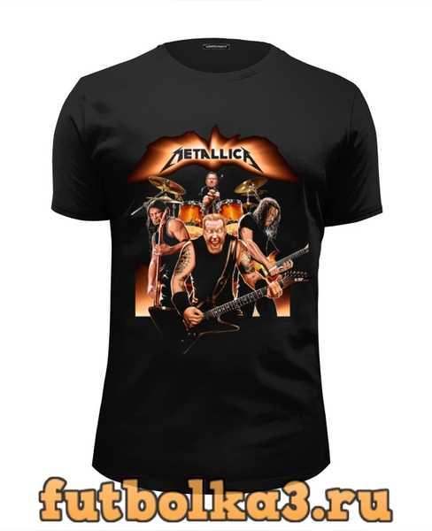 Футболка Metallica - fan-art мужская