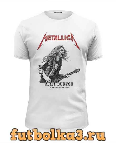 Футболка Metallica мужская