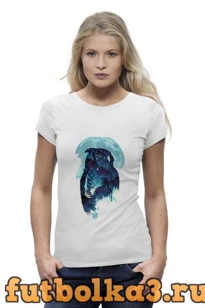 Футболка Midnight Owl женская