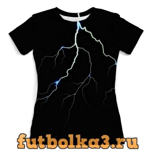 Футболка Молния женская