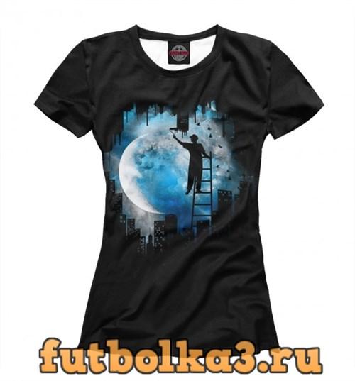 Футболка Moon женская