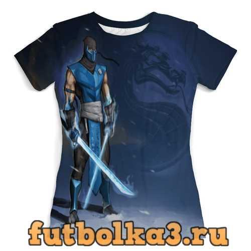 Футболка Mortal Kombat жен�ка�