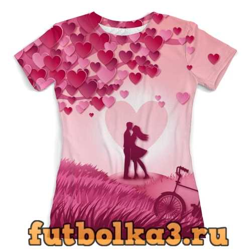 Футболка My Love женская