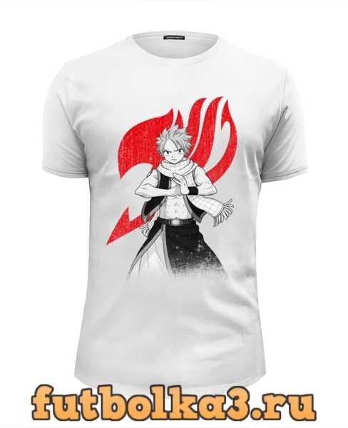 Футболка Нацу. Fairy Tail мужская