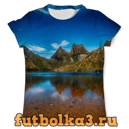 Футболка Небо над горами мужская