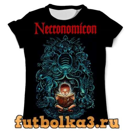 Футболка Necronomicon мужская