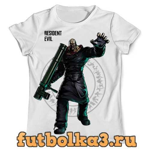 Футболка Немезис Residen Evil мужская