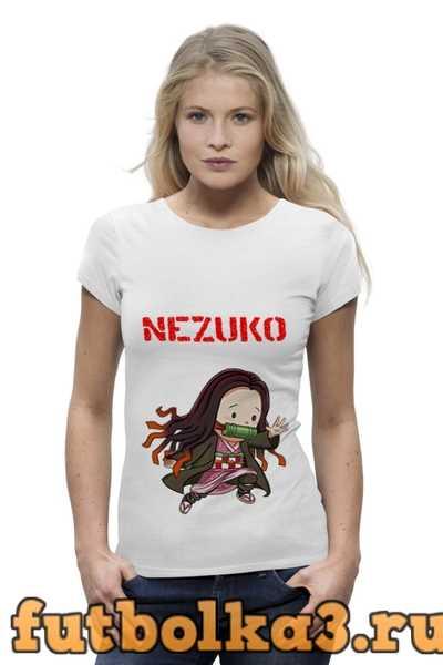 Футболка Nezuko женская