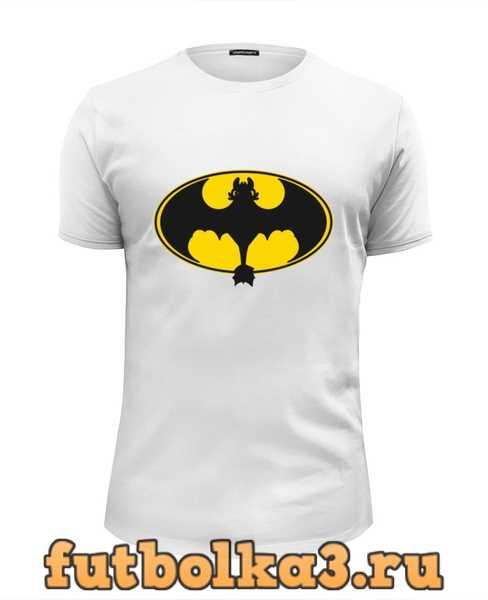 Футболка Night Fury x Batman мужская