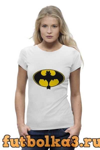 Футболка Night Fury x Batman женская