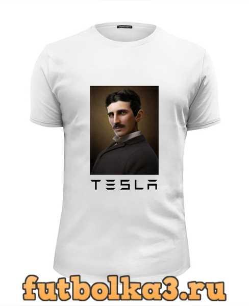 Футболка Никола Тесла мужская