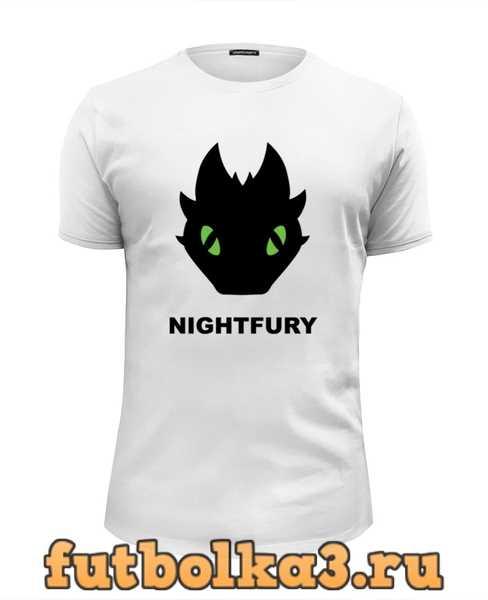 Футболка Ночная Фурия (Night Fury) мужская