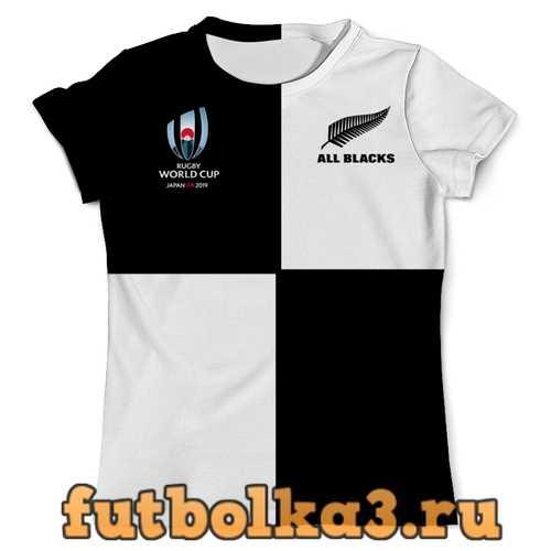 Футболка Новая Зеландия регби - Кубок Мира 2019 мужская