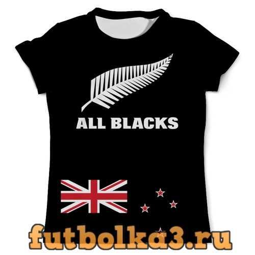 Футболка Новая Зеландия регби мужская