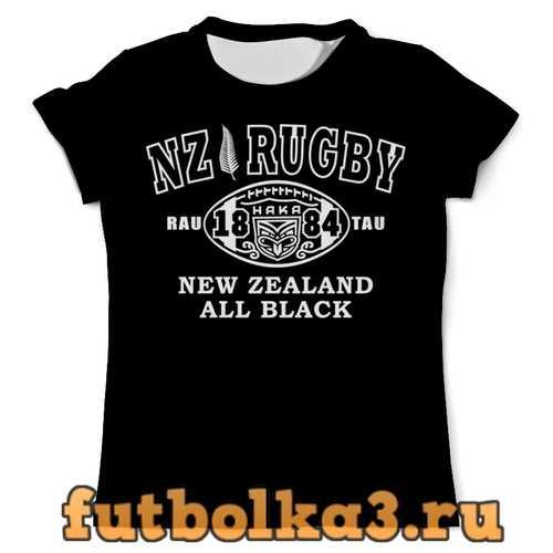 Футболка NZ Rugby History мужская