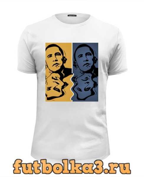 Футболка Обама мужская
