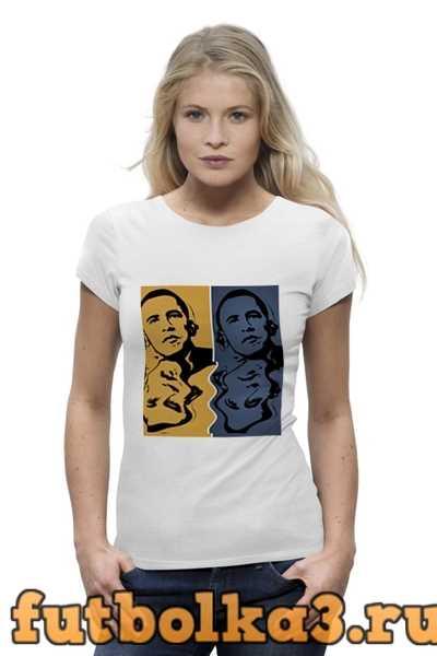 Футболка Обама женская