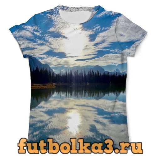 Футболка Облака над горами мужская