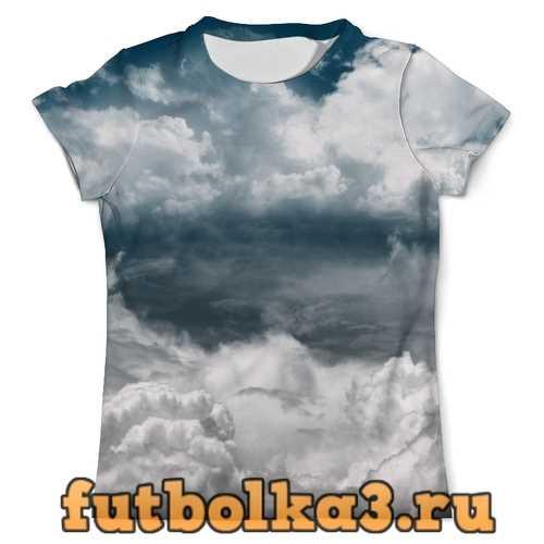 Футболка Облака мужская
