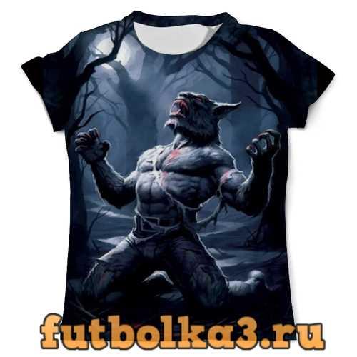 Футболка Оборотень мужская