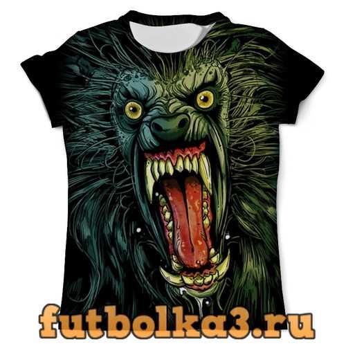 Футболка Оборотень/Werewolf мужская