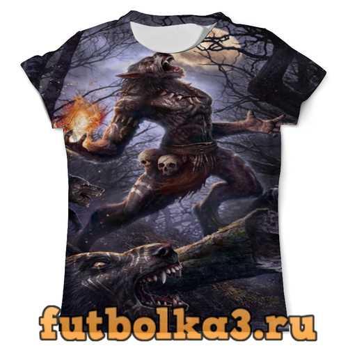 Футболка Оборотни мужская