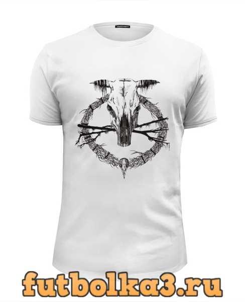 Футболка Occult skull / Оккультный череп мужская