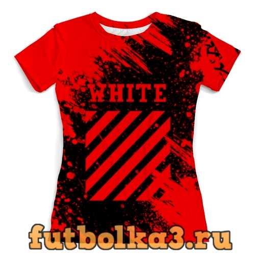 Футболка Off-white женская
