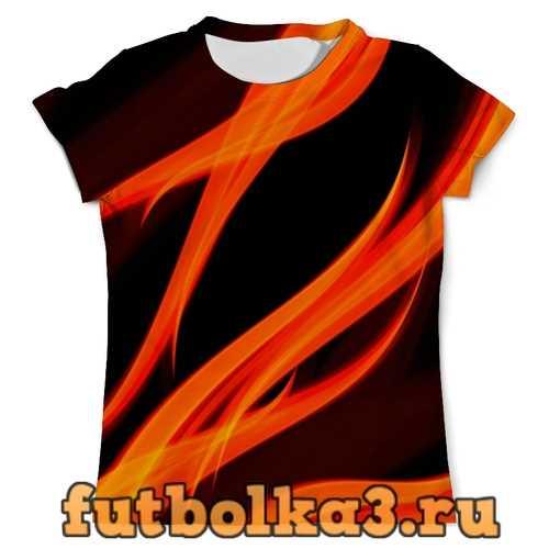 Футболка огонь мужская
