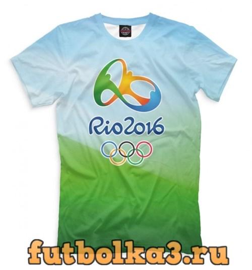 Футболка Олимпиада Рио-2016 мужская