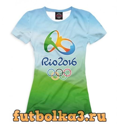 Футболка Олимпиада Рио-2016 женская