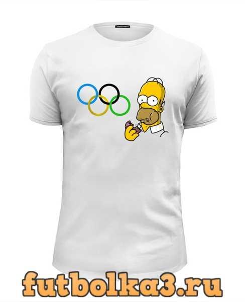 Футболка Олимпийские кольца мужская