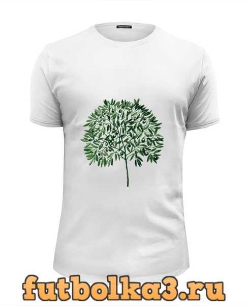 Футболка оливковое дерево мужская