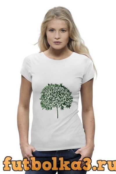 Футболка оливковое дерево женская