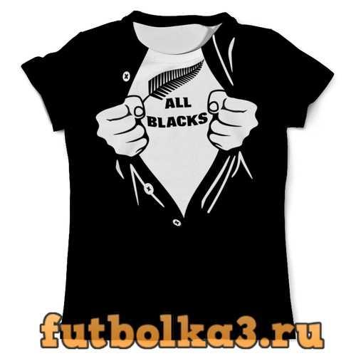 Футболка Олл Блэкс мужская