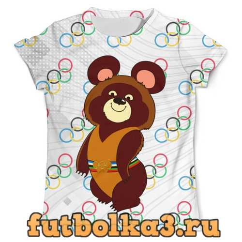 Футболка Olympic Bear Misha 1980 мужская