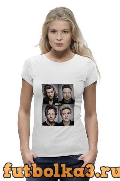 Футболка One Direction женская