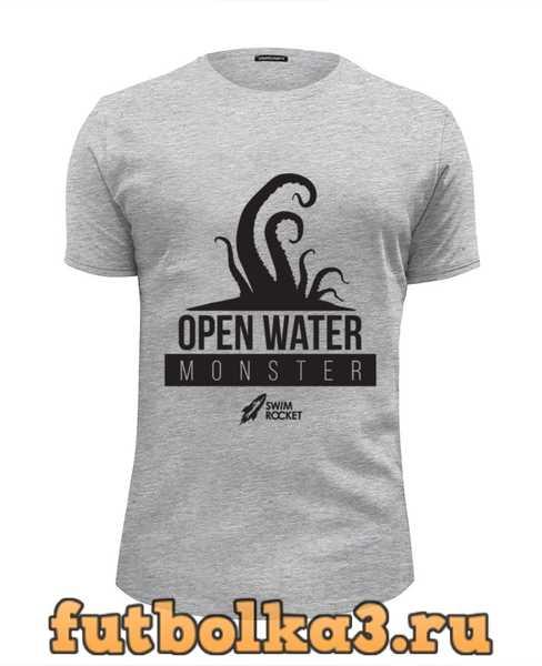 Футболка Open Water Monster мужская