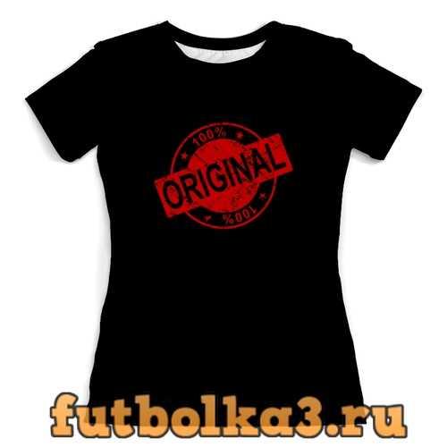 Футболка original женская
