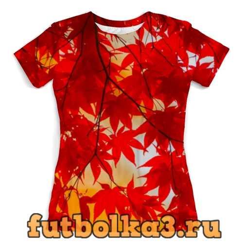 Футболка Осень женская