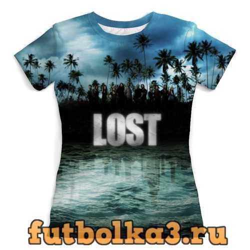 Футболка Остаться в живых (Lost) женская