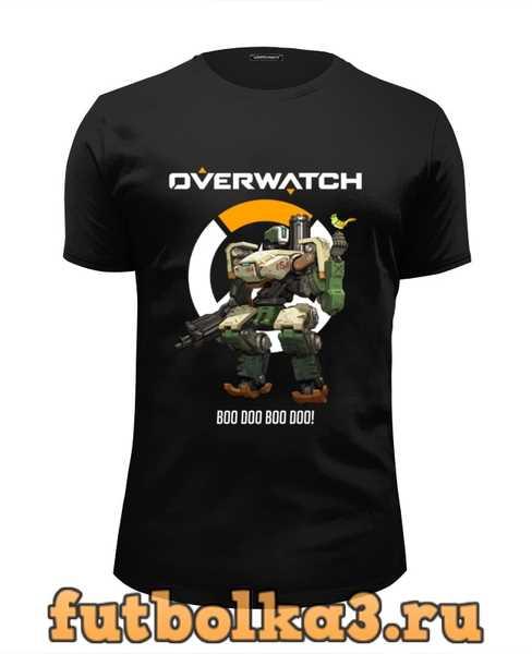 Футболка Overwatch. Бастион мужская
