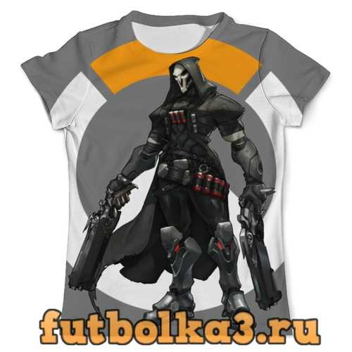 Футболка Overwatch Reaper / Жнец Овервотч мужская