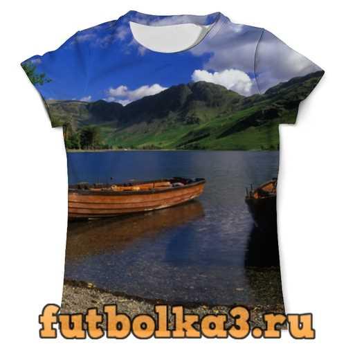 Футболка Озерная красота мужская