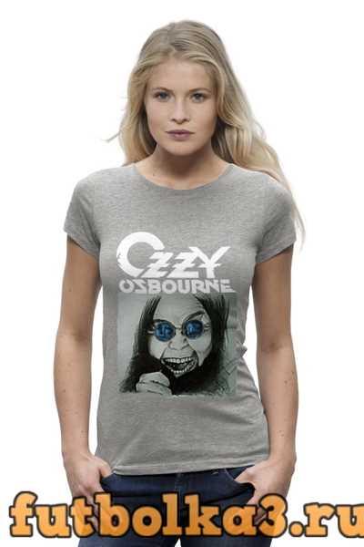 Футболка Ozzy Osbourne женская